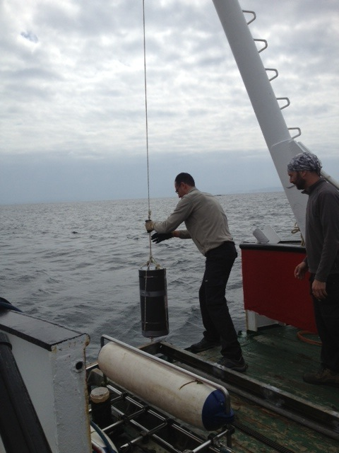 The Safa is small boat deployable autonomous in situ sample and archiving instrument designed my Dr Matt Smith at the University of Milwaukee